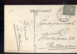 Brouwershaven 1 Langebalk - 1915 - Poststempel