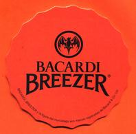 Sous Bock - Coaster Bacardi Breezer Rouge - Chauve Souris - Bierdeckel