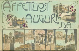 ITALIE   FERRARA  Saluti Di …. - Ferrara