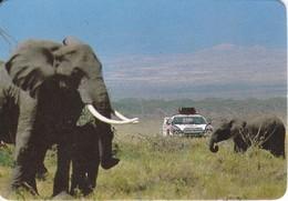 CALENDARIO DEL AÑO 1988 DE UN ELEFANTE (CALENDRIER-CALENDAR) ELEPHANT - Calendarios
