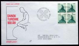 Denmark  1989     FDC   MiNr. 943 The Little Mermaid ( Lot Ks ) - FDC