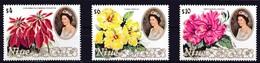 Niue 1981 Yvertn° 365-367 *** MNH Cote 38 Euro Flore Fleurs Flowers Bloemen - Niue