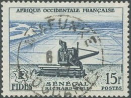 Afrique Occidentale Française - Niafunke / Soudan Fs Sur N° 58 (YT) N° 58 (AM). Oblitération. - A.O.F. (1934-1959)
