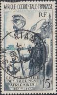 Afrique Occidentale Française - Niamey RP / Niger Sur Poste Aérienne N° 21 (YT) N° 21 (AM). Oblitération. - A.O.F. (1934-1959)