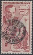 Afrique Occidentale Française - Thies / Sénégal Sur Poste Aérienne N° 11 (YT) N° 11 (AM). Oblitération. - A.O.F. (1934-1959)