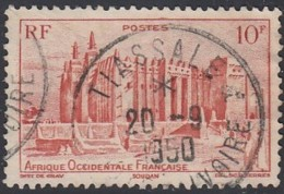 Afrique Occidentale Française - Tiassale / Côte D'Ivoire Sur N° 39 (YT) N° 39 (AM). Oblitération. - A.O.F. (1934-1959)