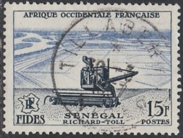 Afrique Occidentale Française - Tillabery / Niger Sur N° 58 (YT) N° 58 (AM). Oblitération. - A.O.F. (1934-1959)