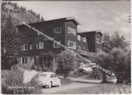 ORIGINAL POSTCARD SUNDRE HOTEL HOTELL 1955 AL HALLINGDAL / OLD VW BEETLE - Norvegia