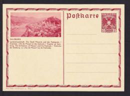 """35 Gr. Bild-Ganzsache """"Salzburg.. Die Stadt Mozarts.."""" - Ungebraucht - Musique"""