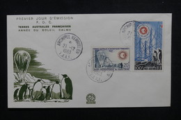 T.A.A.F. - Enveloppe FDC En 1963 - Soleil Calme - L 50844 - FDC