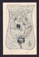 5 Pf. Privat Ganzsache Augsburg Sängerfest - Gans - Gebraucht 1900 - Oies