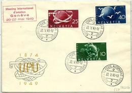 Suiza Nº 474/76 En Sobre - Covers & Documents