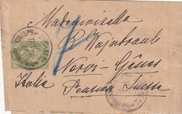 RUSSIE      ENTIER POSTAL  /GANZSACHE/POSTAL STATIONERY  BANDE JOURNAL - 1857-1916 Imperio