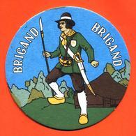 Sous Bock - Coaster Bière Brigand Bière Brasserie à Ingelmunster Belgique - Portavasos