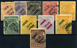 Brasil Nº 91/100. Año 1898. - Neufs