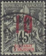 Anjouan - N° 27 (YT) N° 27 (AM) Oblitéré. - Anjouan (1892-1912)
