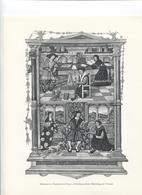 GRANDES FIGURES DE FRANCE - Miniature De L'Institution Du Prince - De Guillaume Budé - Histoire
