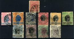 Brasil Nº 78/88. Año 1893/904 - Brazilië