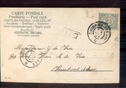 Zuidbroek Ter Apel B Grootrond Assen - 1903 - Poststempel