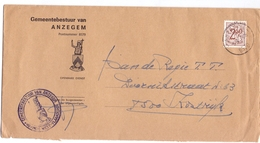 Enveloppe Omslag - Gemeentebestuur Anzegem - Stempel Cachet 1976 - Ganzsachen