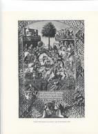 GRANDES FIGURES DE FRANCE - Charles VIII Assistant à Un Tournoi 1494 - Ecole Française - Histoire