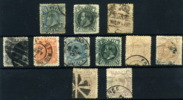 Brasil Nº 48/58 . Año 1881/83 - Brazilië