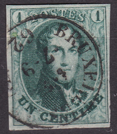 Belgique - COB 9 - Bruxelles 1862 - 1849 Schulterklappen