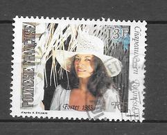 Chapeaux En Polynésie : N°199 Chez YT. (Voir Commentaires) - Used Stamps