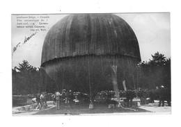 Grande Fête Aérostatique Du 3 Août 1905 à Bruxelles. M. Capazza. Le Sauveteur Aérien. - Montgolfières