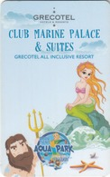GREECE Hotel Keycard - Grecotel ,Club Marine Palace & Suites,used - Cartes D'hotel