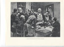 GRANDES FIGURES DE FRANCE - La Leçon De Claude Bernard   Par Léon Lhermitte - Histoire