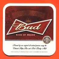 Sous Bock - Coaster Bière Bud Brasserie à Saint Louis Etats Unis - Beer Mats