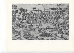 GRANDES FIGURES DE FRANCE - Le Siège De Poitiers En 1569 Pendant Les Guerres De Réligion - Gravure Tortorel Perrissin - Histoire