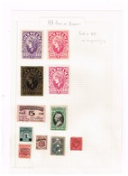 Etats-Unis. Timbres Fiscaux à Identifier. Restant D'une Ancienne Collection. Remainder From Old Collection. - Briefmarken