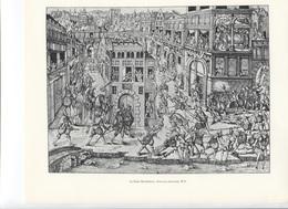 GRANDES FIGURES DE FRANCE - LA Saint Barthélemy  - Gravure Anonyme - Histoire