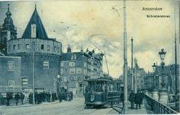 Amsterdam 1906; Schreijerstoren (Tramway) - Gelopen. (J.V.A.) - Amsterdam