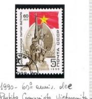 URSS - SG 6115   - 1990 VIETNAMESE COMMUNIST PARTY ANNIVERSARY   - USED° - RIF. CP - Usati