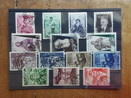 RUSSIA - 4 Serie Complete Timbrate - Anni '30 - (1 Valore Angolo Corto) + Spese Postali - Used Stamps