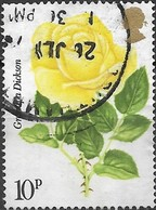 GREAT BRITAIN 1976 Centenary Of Royal National Rose Society - 10p - 'Grandpa Dickson' FU - 1952-.... (Elisabetta II)