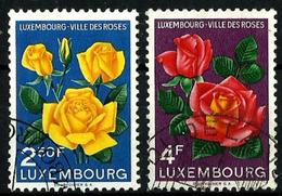 Luxemburgo Nº 508/9 Usados. Cat.8€ - Luxemburgo