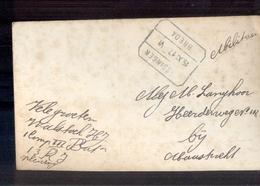 Treinstempel Vlissingen Breda VI - 1917 - Poststempel