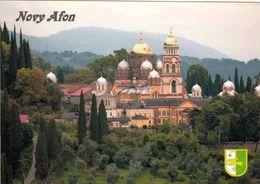 1 AK Autonome Republik Abchasien (Georgien) * Kloster In Der Stadt Nowy Afon * - Georgien