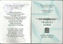 Israel Obsolete Passport 1993 Perfect Condition! Passeport Reisepass Pasaporte - Documenti Storici