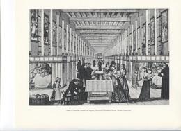 GRANDES FIGURES DE FRANCE - Anne D'Autriche Visitant Un Hopital - Gravure D'Abraham Bosse - Histoire