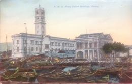 Malesia...... PENANG.....Railway Station Buildings...ca. 1920.  Stazione Ferroviaria, Gare - Malaysia