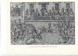 GRANDES FIGURES DE FRANCE - Le Tournoi Au Cours Duquel Henri II Fut Mortellement Blessé - Histoire