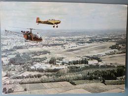Hélicoptère Et Avion, Base Militaire Aérienne, Seyresse, Landes (40) Près Dax - Aviation Légère Armée De Terre A.L.A.T - Hélicoptères