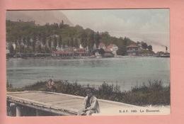 OUDE POSTKAART - ZWITSERLAND - SCHWEIZ - SUISSE - LE BOUVERET  1910 - VS Valais