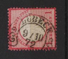MiNr. 4  Hufeisen-Stempel  LÜBECK - Germany
