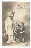 Vive St Nicolas Sint Nikolaas Niklaas Carte Postale Ancienne - Saint-Nicolas
